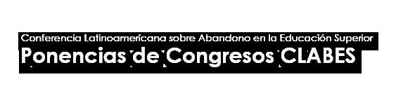 Ponencias del Congreso CLABES